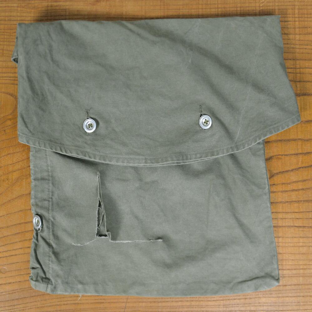 ドイツ軍放出品 テントシート収納バッグ オリーブドラブ 軍幕収納袋