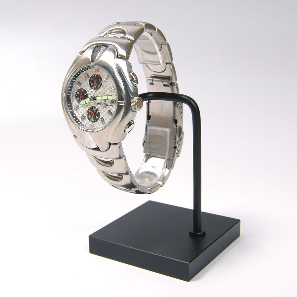 腕時計スタンド C型 ブラック ディスプレイ用品