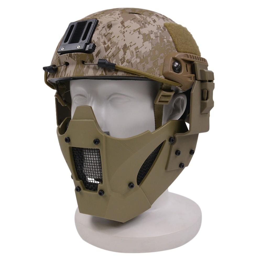 TMC ヘルメット装着用アダプター付 Jay Fast マスク