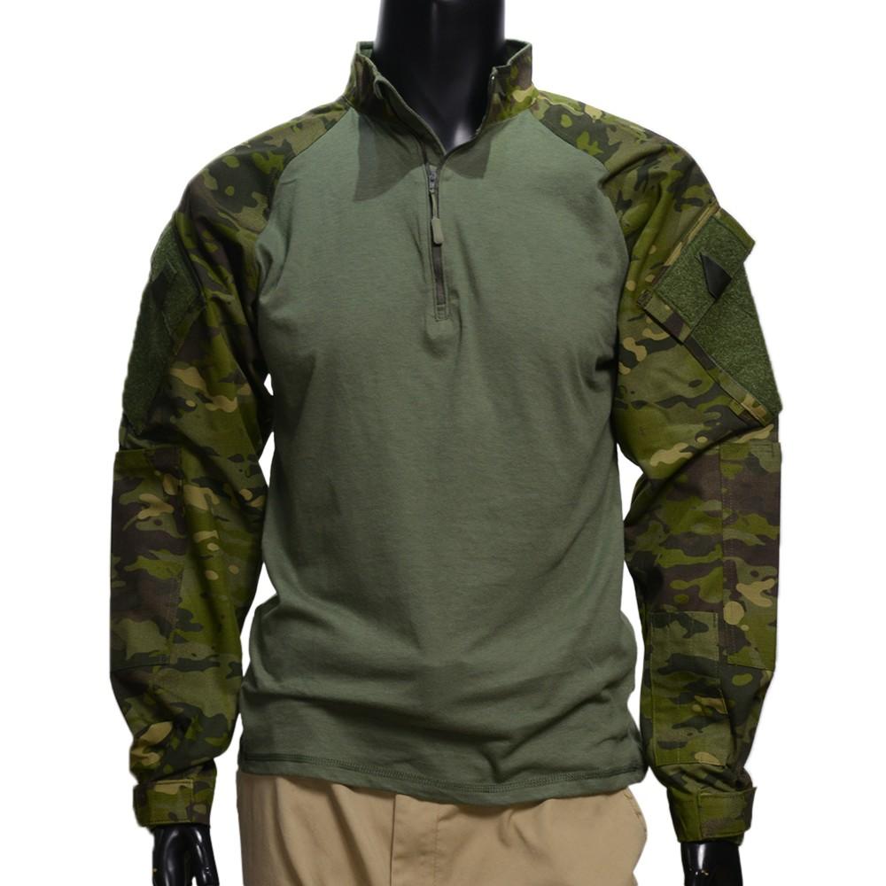 TRU-SPEC コンバットシャツ 1/4ジッパー NYCO レギュラー丈