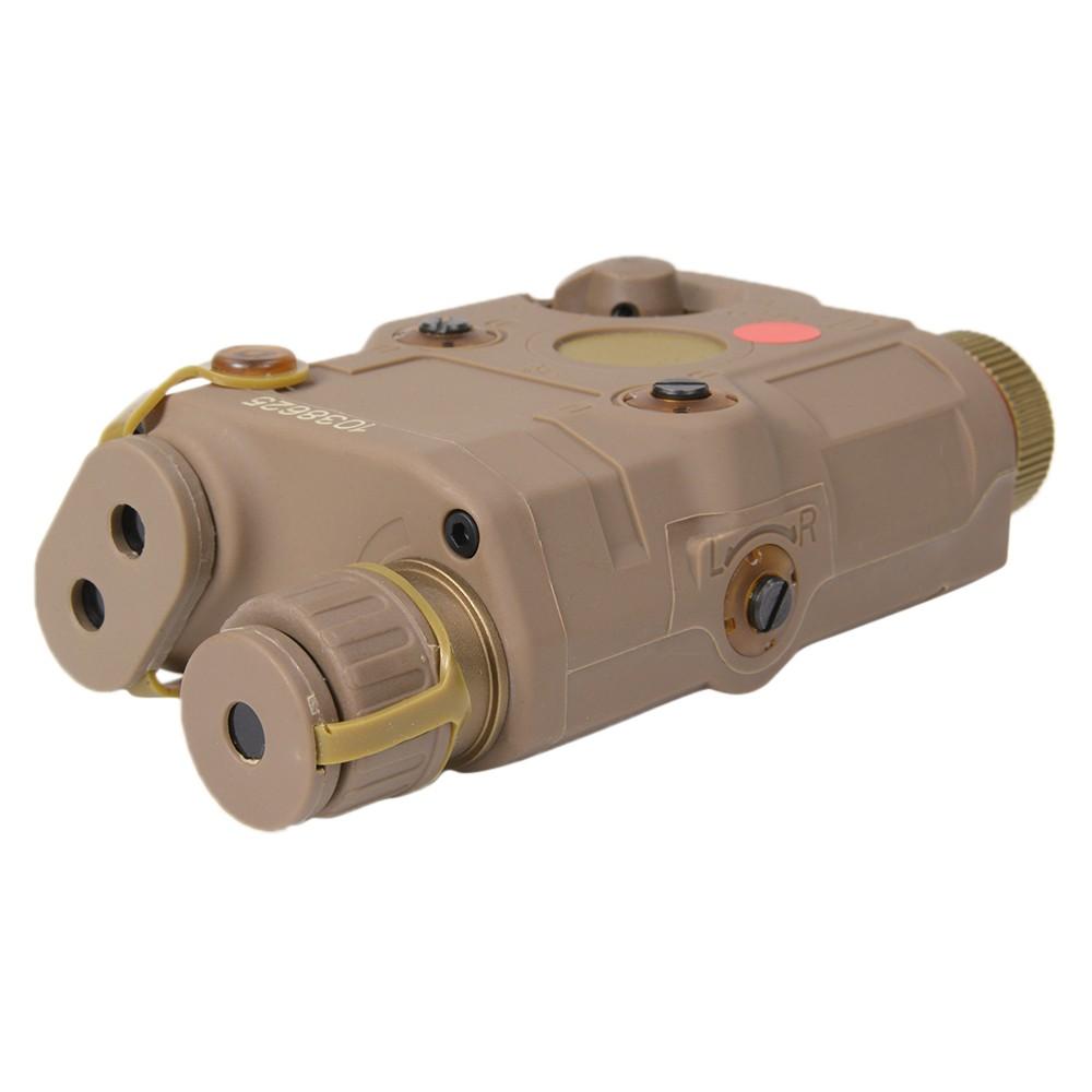 FMA ウエポンライト AN/PEQ-15タイプ LED レプリカ 赤色レーザー非作動