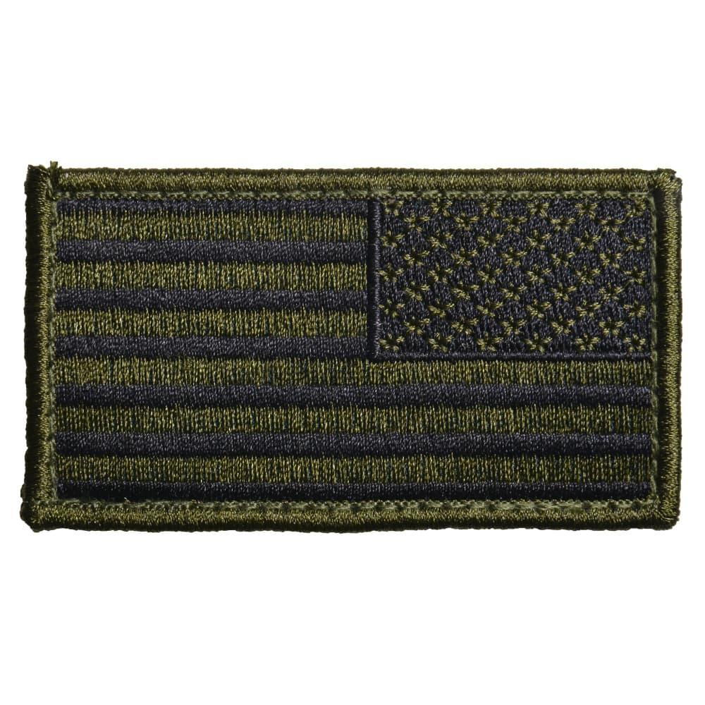 ロスコ ミリタリーワッペン 星条旗 ベルクロ