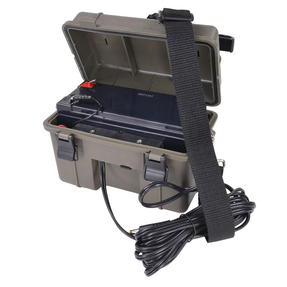 STEALTH CAM 密閉型 12Vバッテリーキット AC充電器付