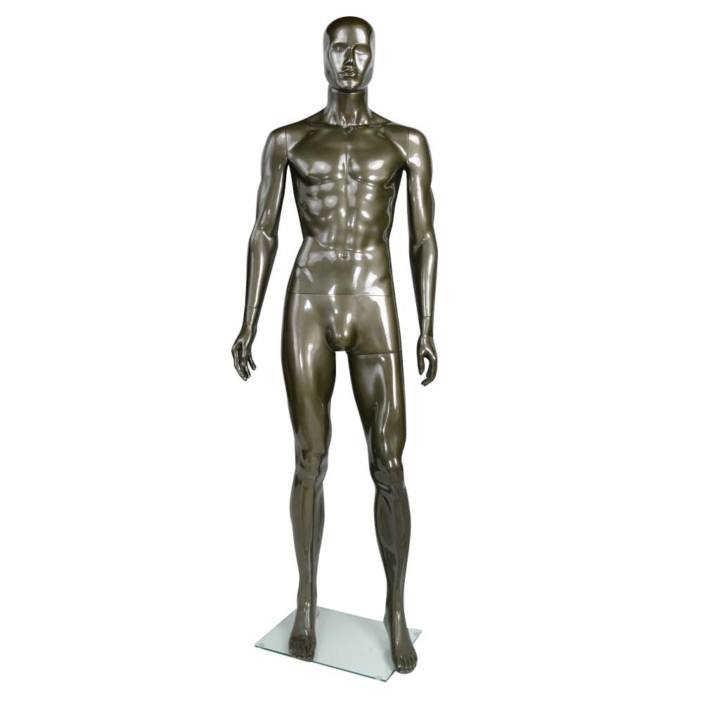 マネキン 全身 メンズ 筋肉質 ディスプレイ用品 組立式
