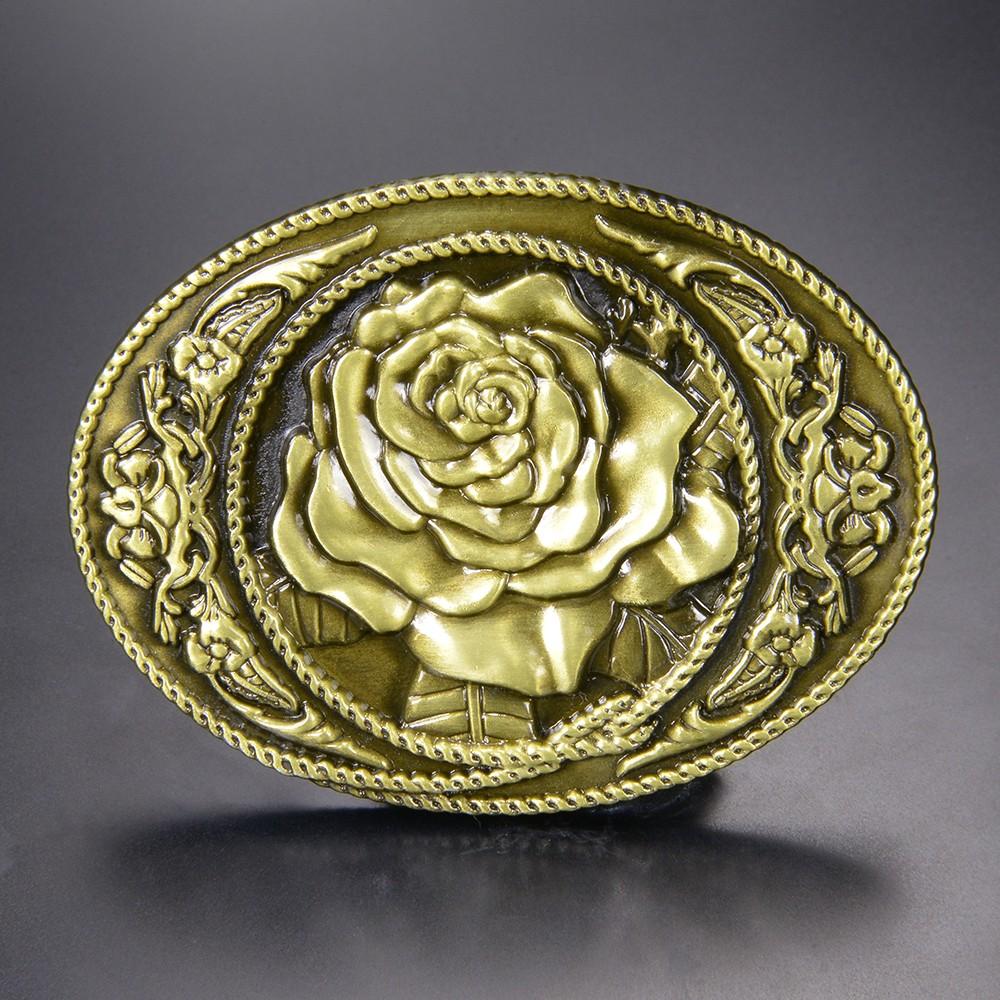 ベルトバックル 薔薇 カウガール 1461