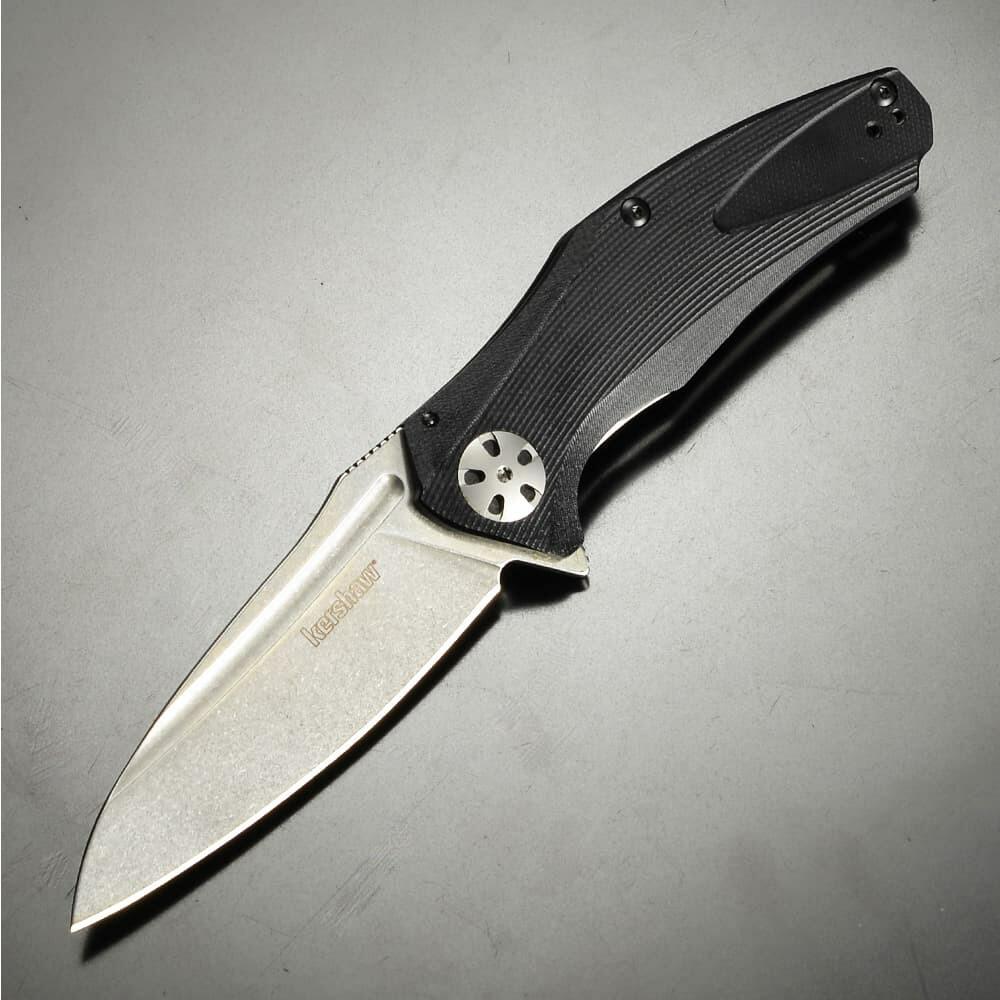 Kershaw 折りたたみナイフ NATRIX ブラック 7007BLK フレームロック
