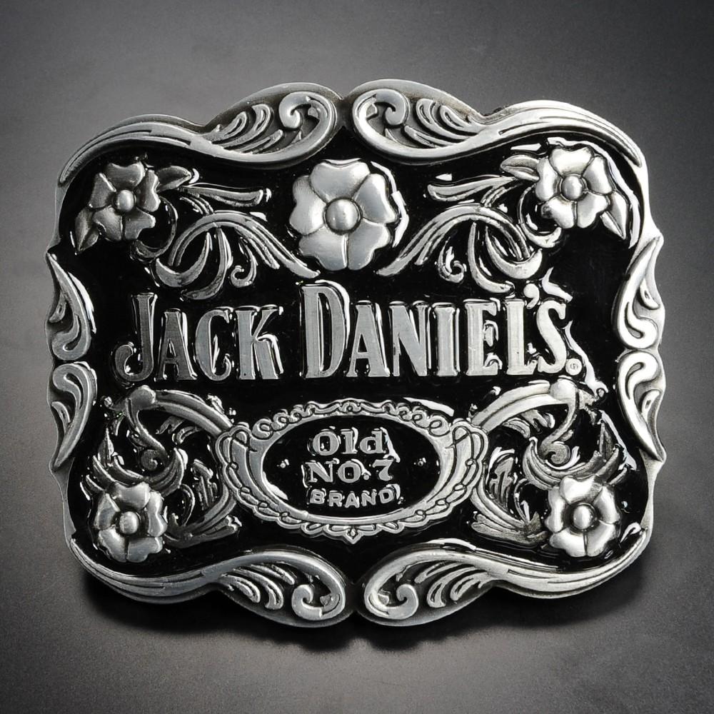 ベルトバックル JACK DANIELS ボトルデザイン Old No.7