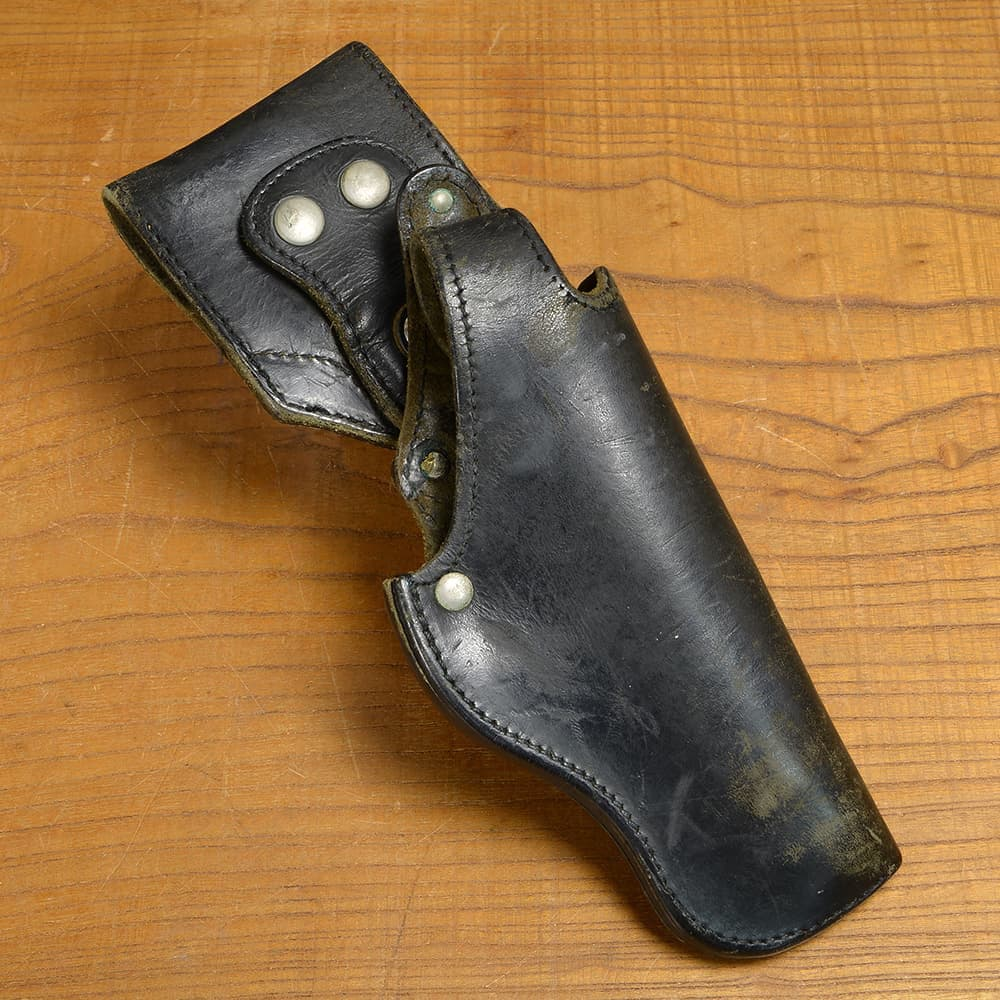 フランス警察 放出品 ピストルホルスター 革製 MAC50対応