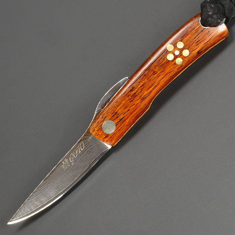 Outdoor Imported Goods Repmart Custom Knife Goto Higo Cocobolo
