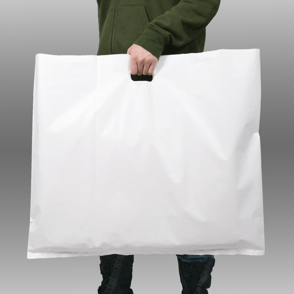 ポリ袋 ショッパー 店舗用品 大型 小判抜き