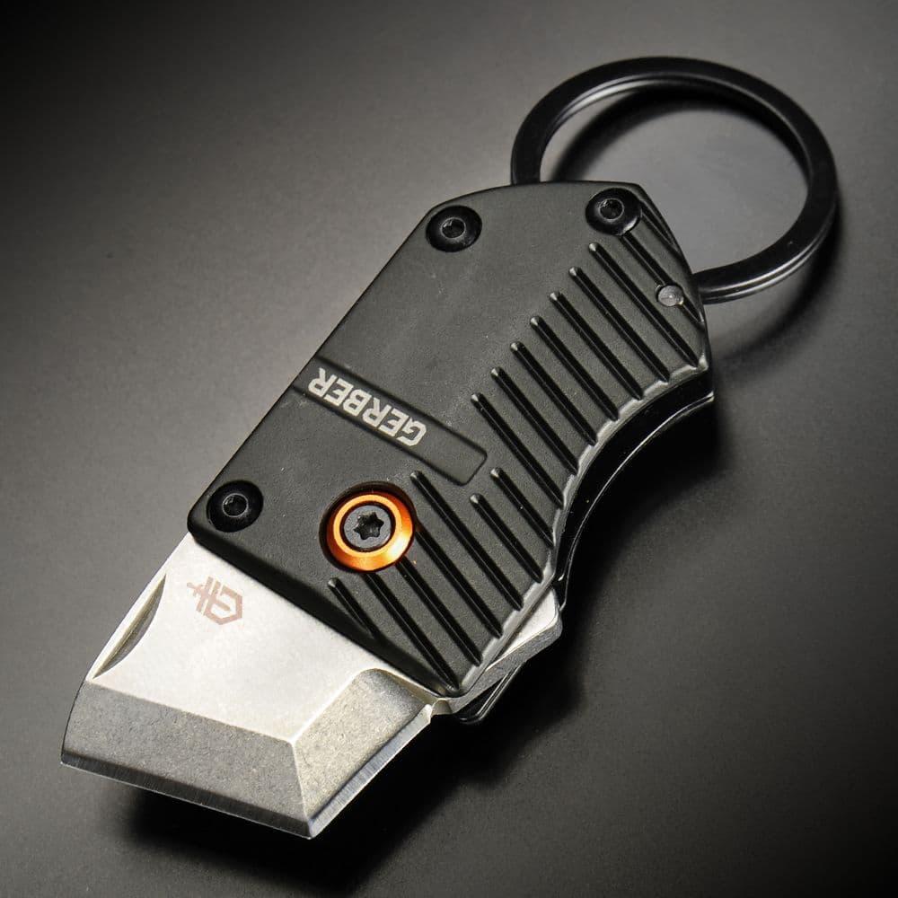 Gerber 折りたたみナイフ Key Note ライナーロック式 キーリング付き