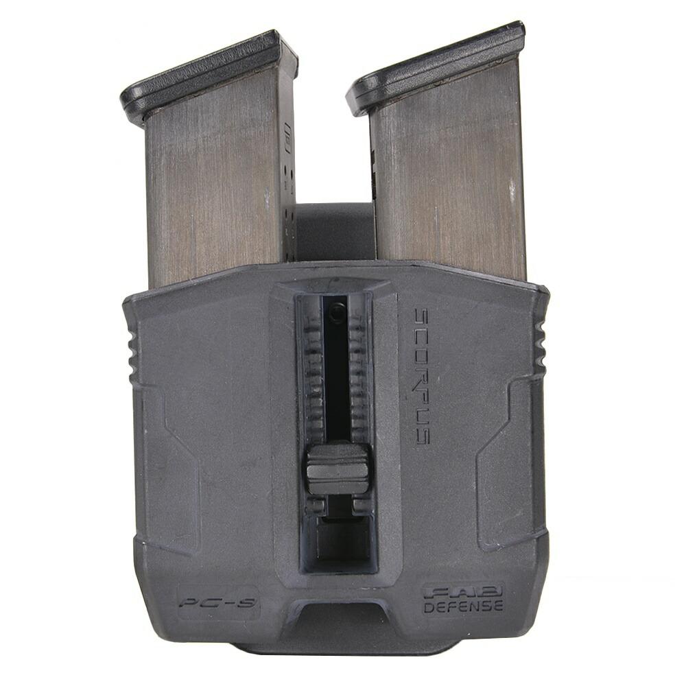 FABディフェンス 実物 PG-9 SCORPUS  ダブルマグケース GLOCK用 9mm
