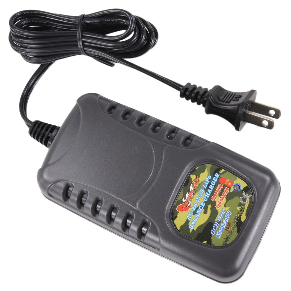オプションNO1 AC急速充電器 Lipoバッテリー対応 2-3セル用