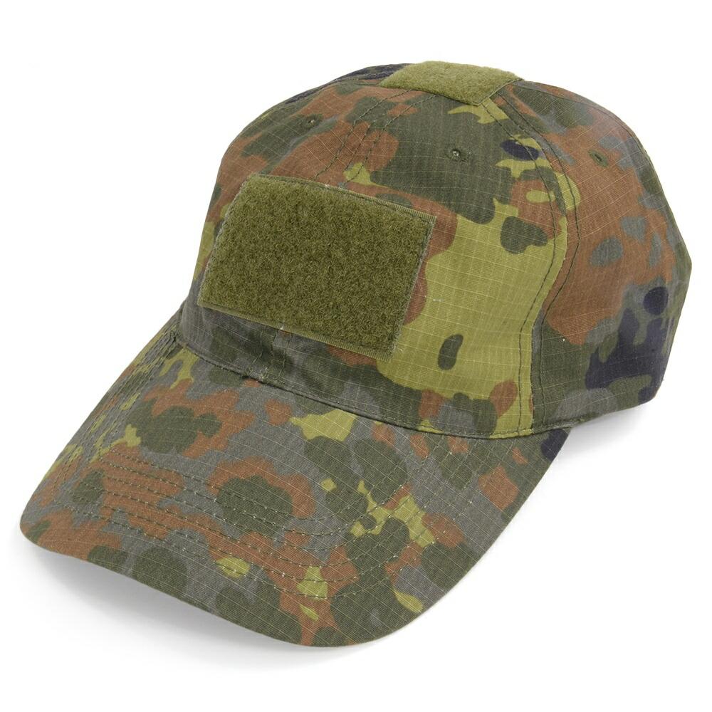 ドイツ軍放出品 オペレーターキャップ 野球帽 フレックタン