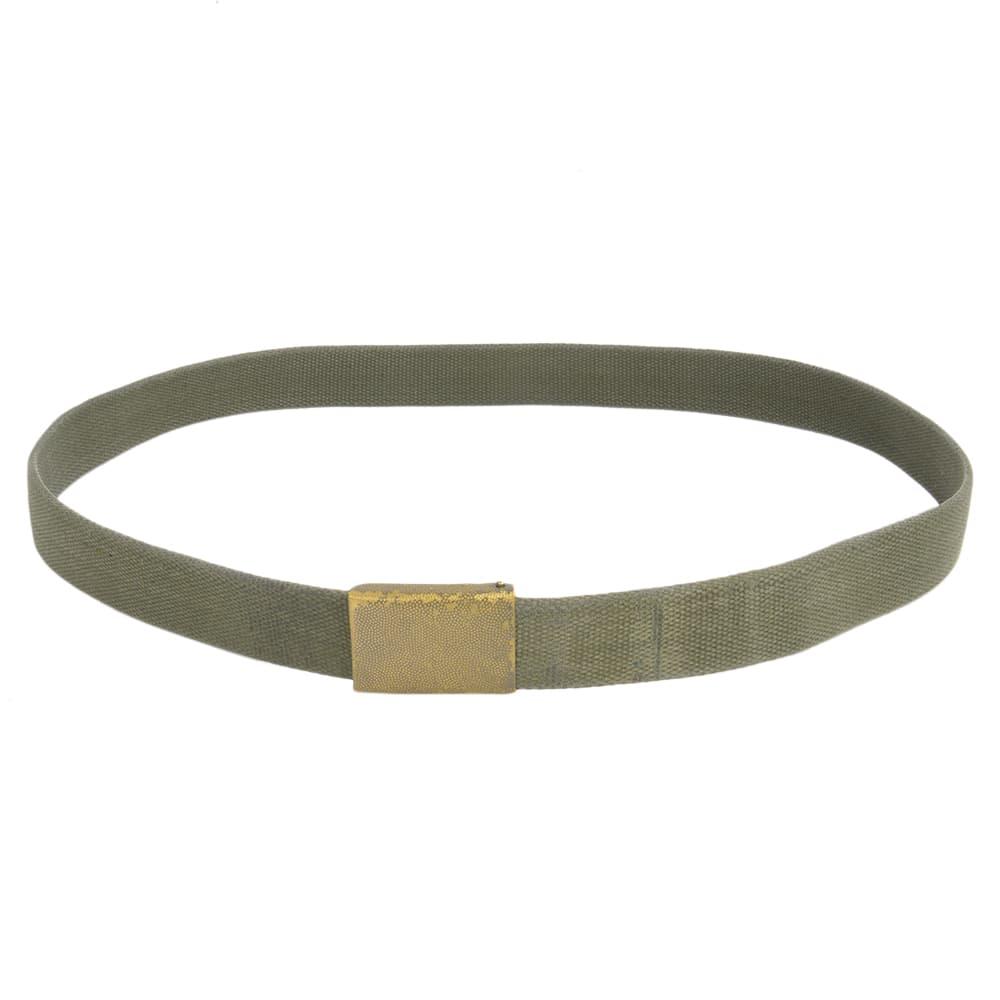 ドイツ軍放出品 タクティカルベルト 布製 3cm幅 OD