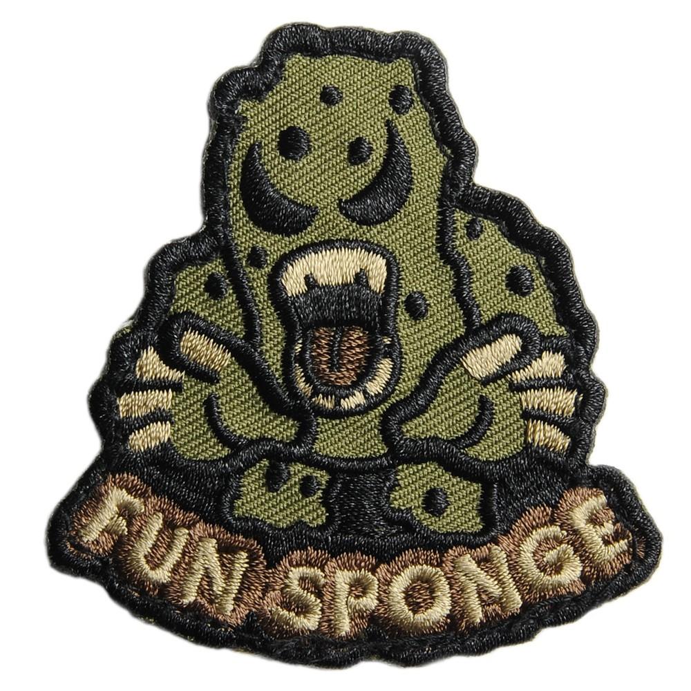 MIL-SPEC MONKEY ミリタリーパッチ Fun Sponge ベルクロ付き