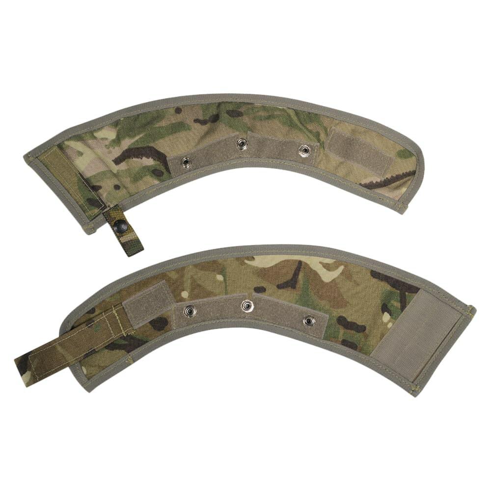 イギリス軍放出品 オスプレイ MK4A ハーフカラーカバー 左右セット 襟パーツ