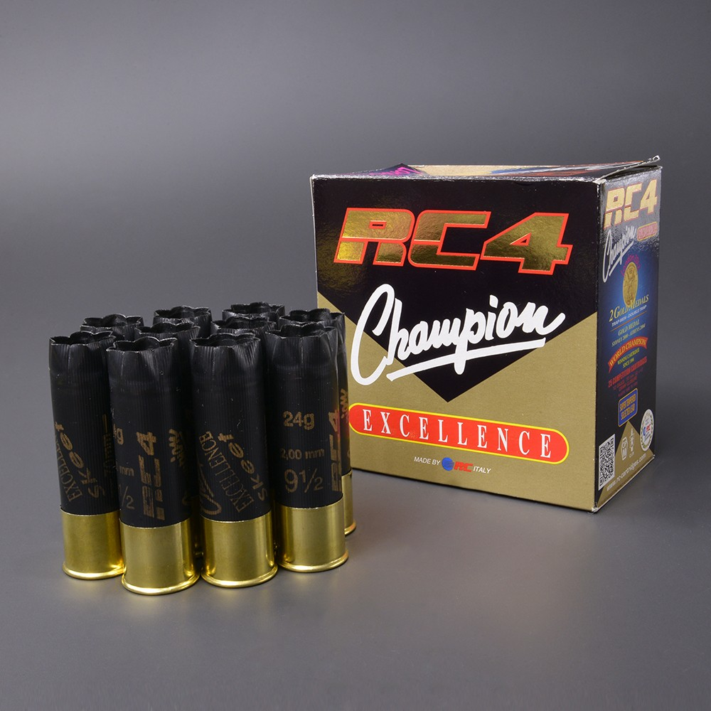 RC 空薬きょう 12ゲージ RC4 チャンピオン エクセレンス 10個セット 箱付