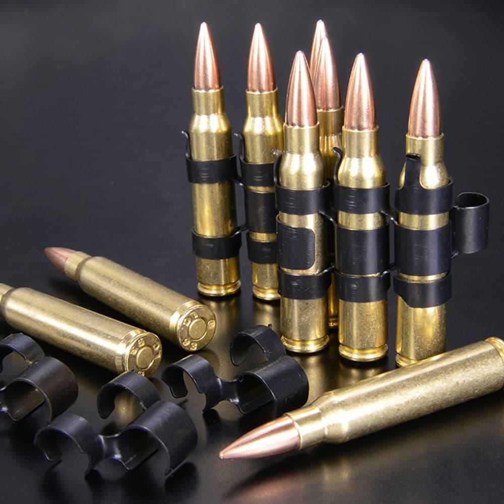 RIGHT リアルダミーカート 5.56×45mm NATO弾 10発セット ベルリンク付