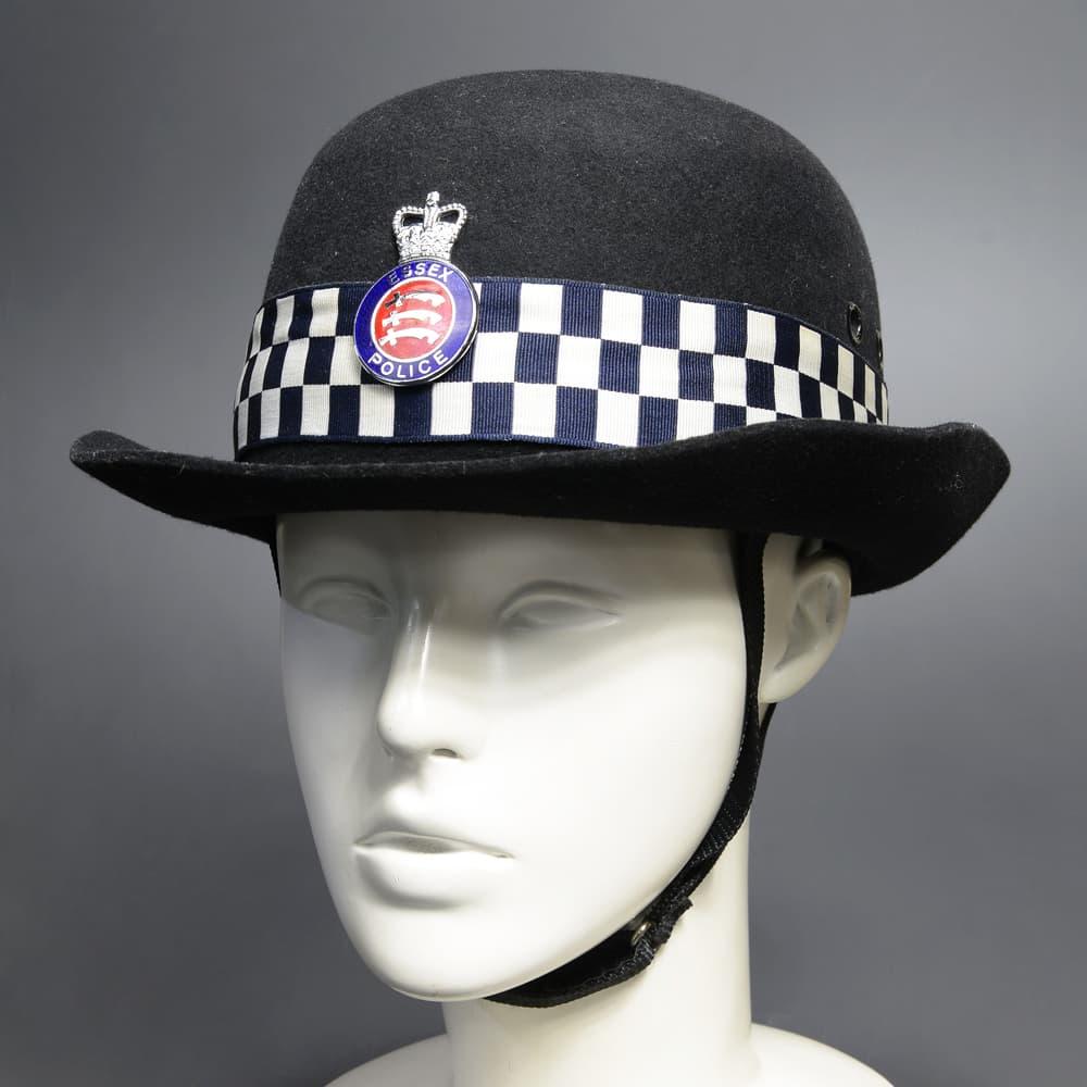 イギリス警察 放出品 ヘルメット 女性用 ESSEX 警察官