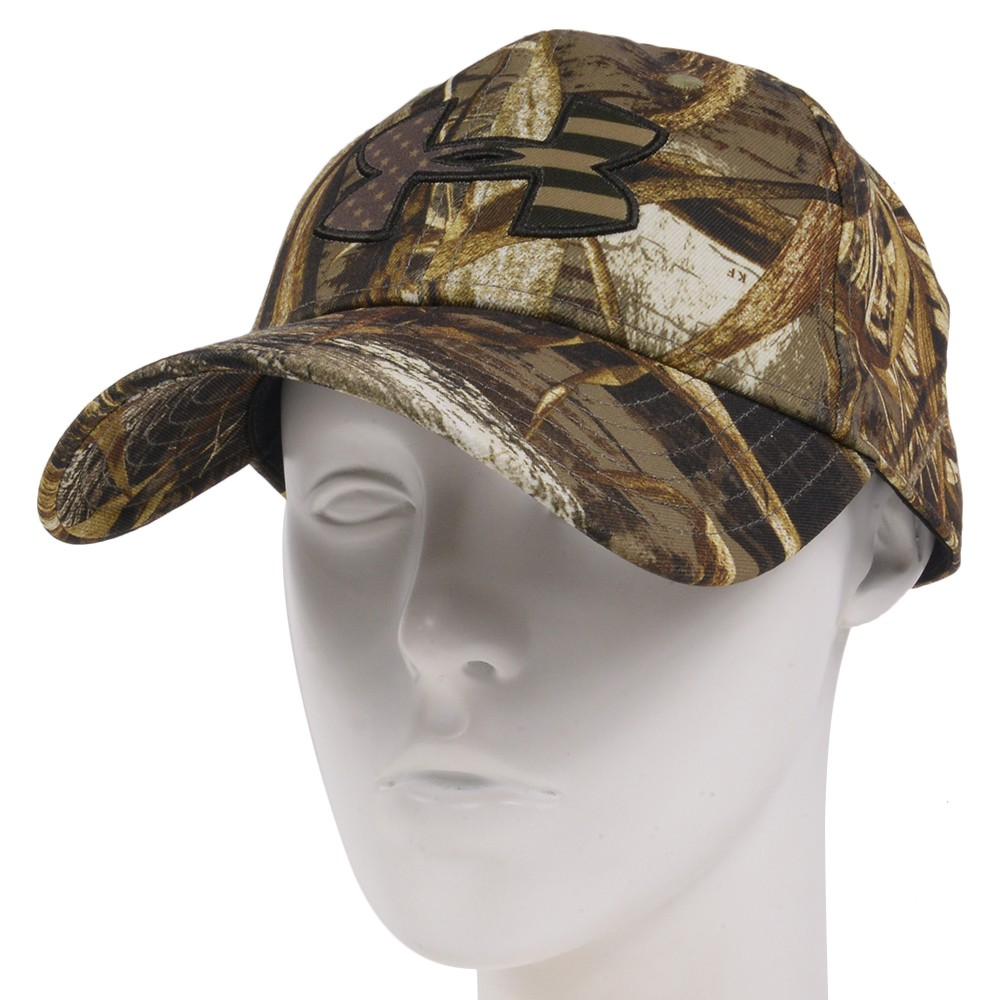 Under Armour rial tree MAX-5 pattern cap 1300488-free fitting Under Armour  REALTREE hat FreeFit baseball cap baseball cap men work cap hat military cap  ... 1777353e50d