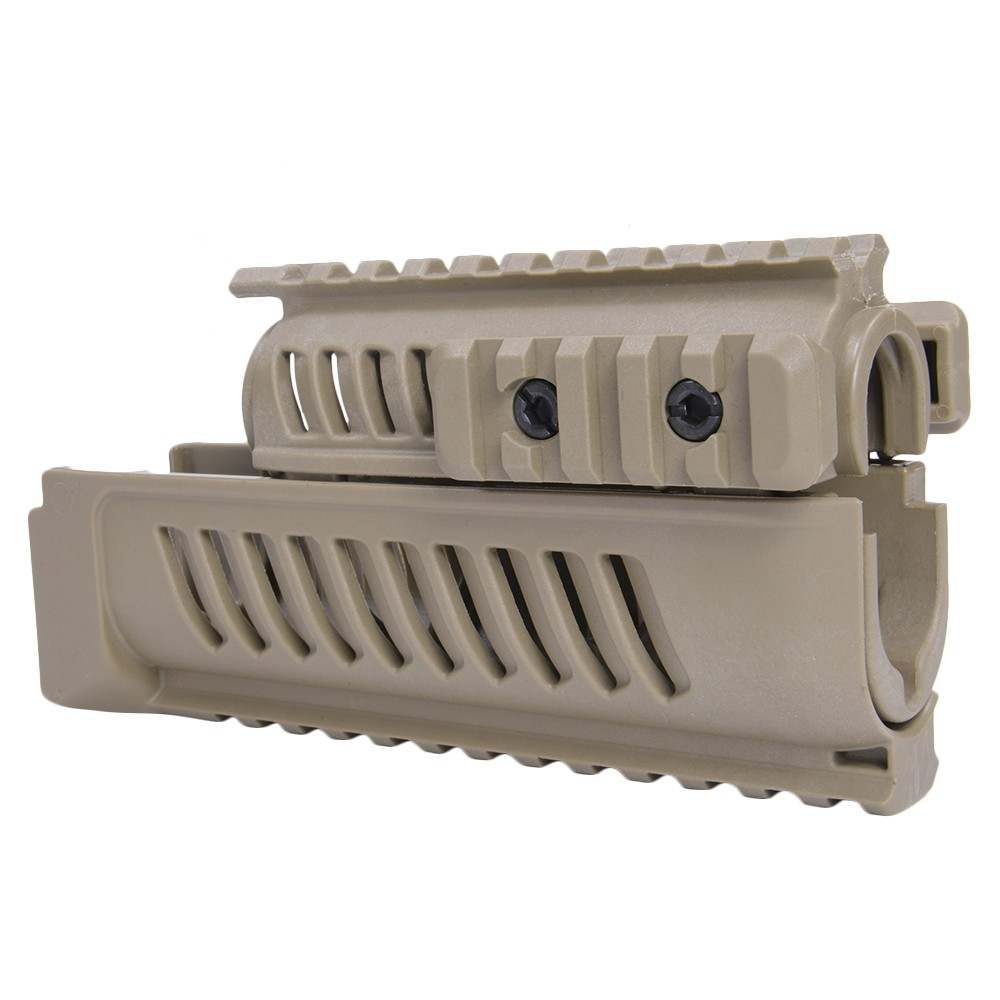 FABディフェンス 実物 ハンドガード AK-47用 クワッドレイル