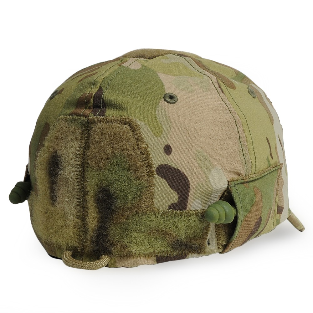 1eb104ad542e6 Cap CG-HAT DLUX(CG- hat deluxe) of the mil specifications monkey which is  famous for the military patch with earplugs (belonging to cord Lille) on a  hat ...