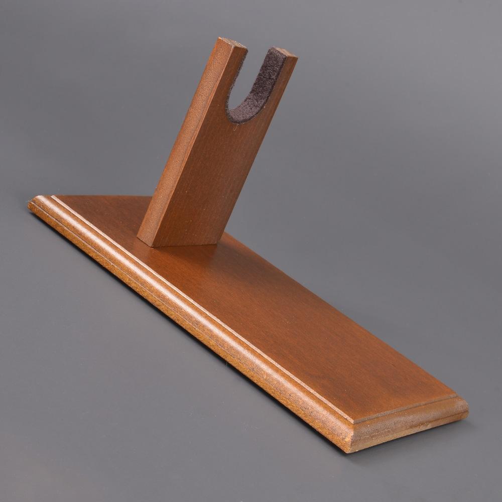 ハンドガンスタンド 木製 ディスプレイ用