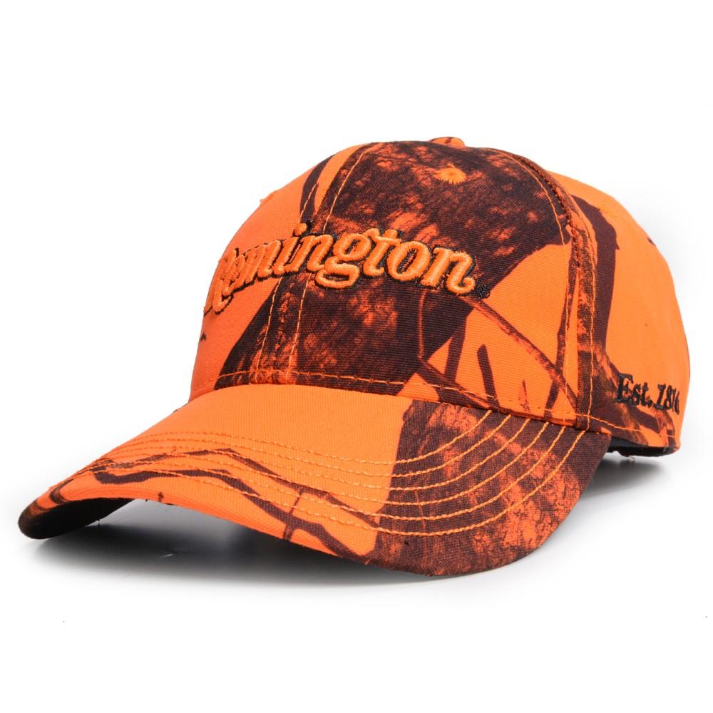 レミントン 野球帽 ブレイズカモ ロゴ入り