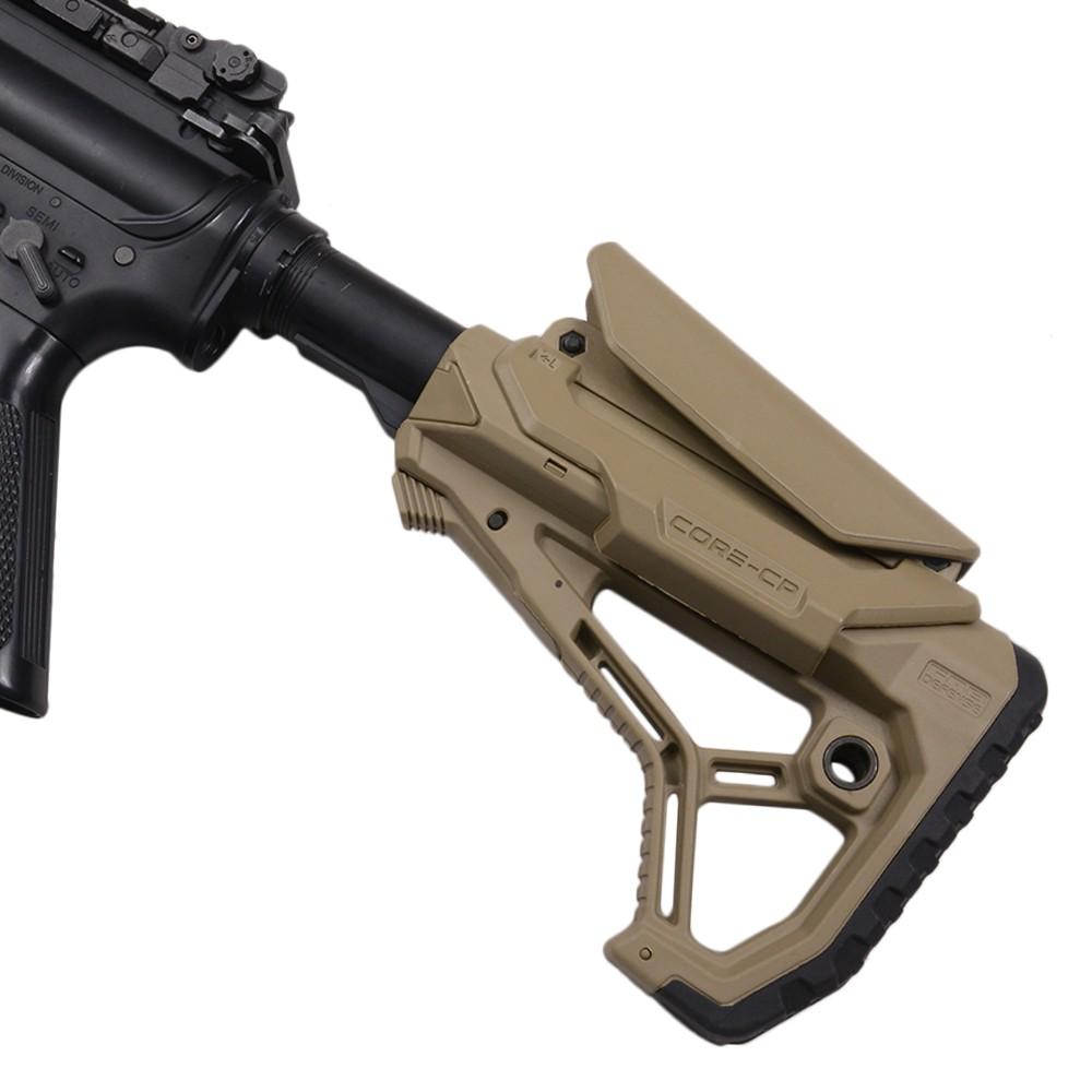 FABディフェンス 実物 GL-CORE CP ストック AR15 M4対応 チークレスト付き