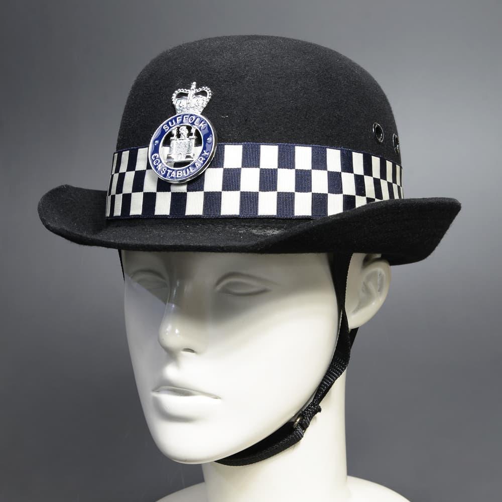 イギリス警察 放出品 ヘルメット 女性用 Suffolk Constabulary 警察官