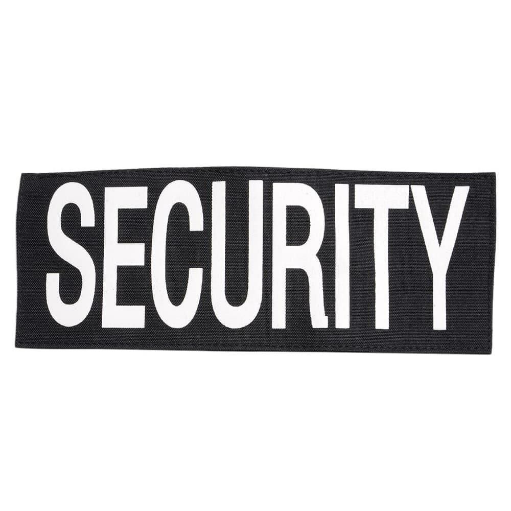 Rothco ミリタリーパッチ SECURITY ベルクロ ポリエステル製