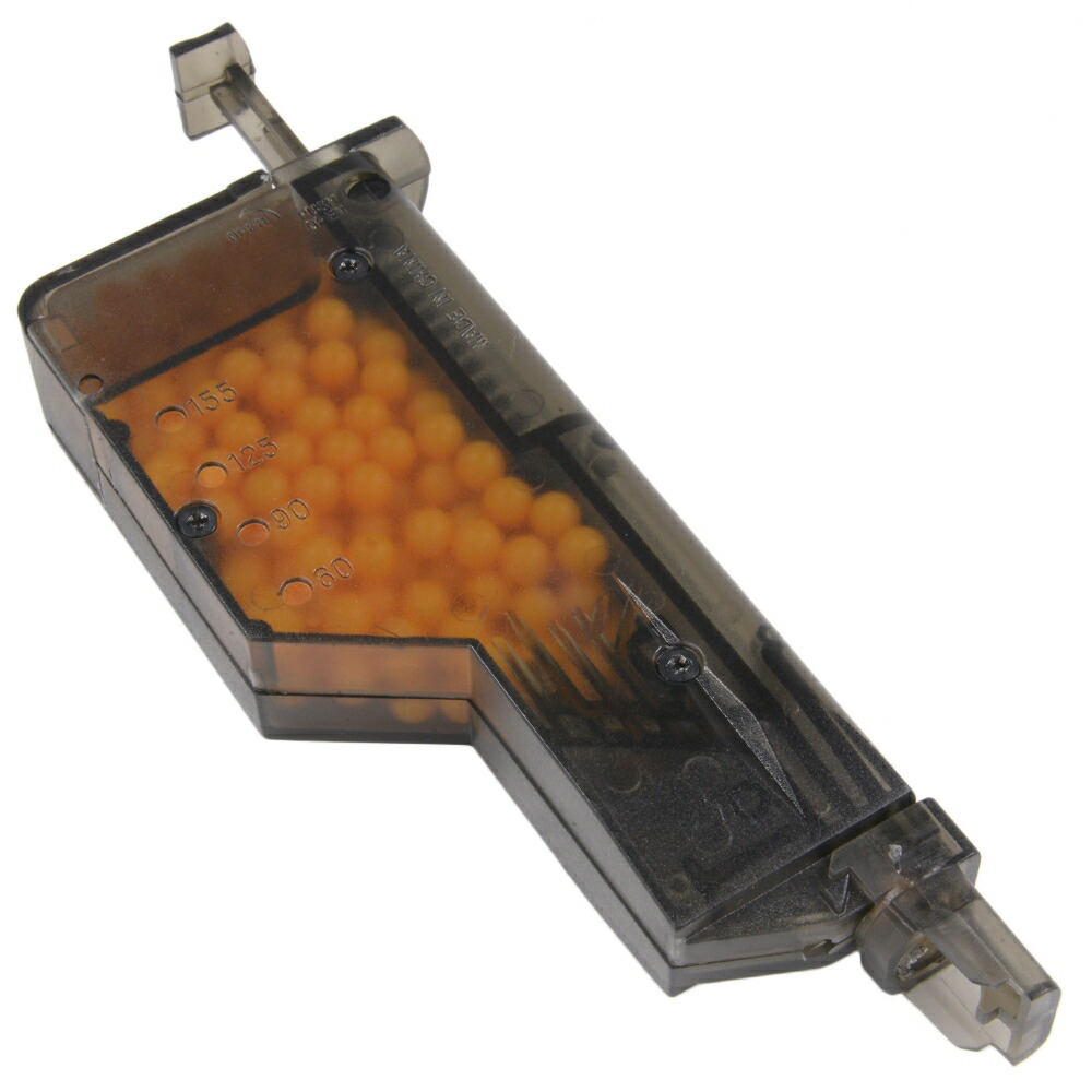 BBローダー 200発 ガスマガジン用アダプター付