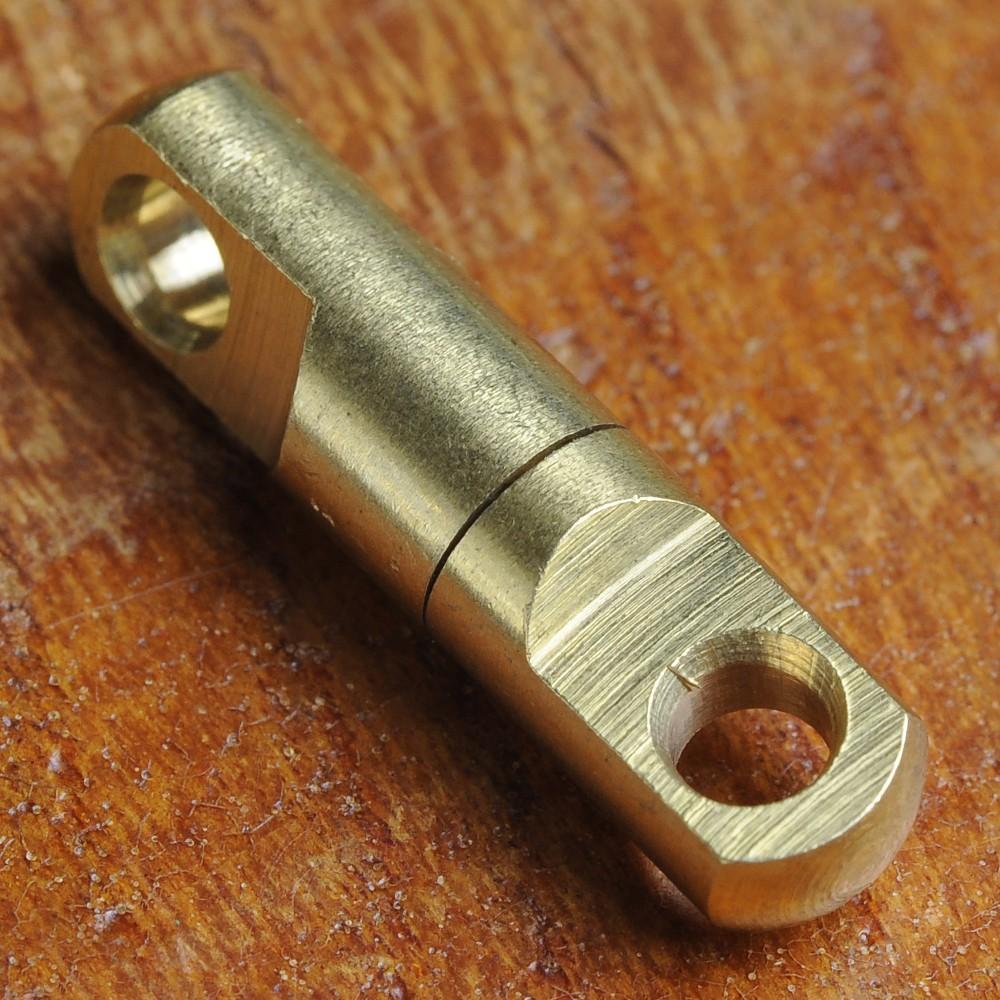 回転カン 真鍮製スイベル サルカン 糸ヨレ防止