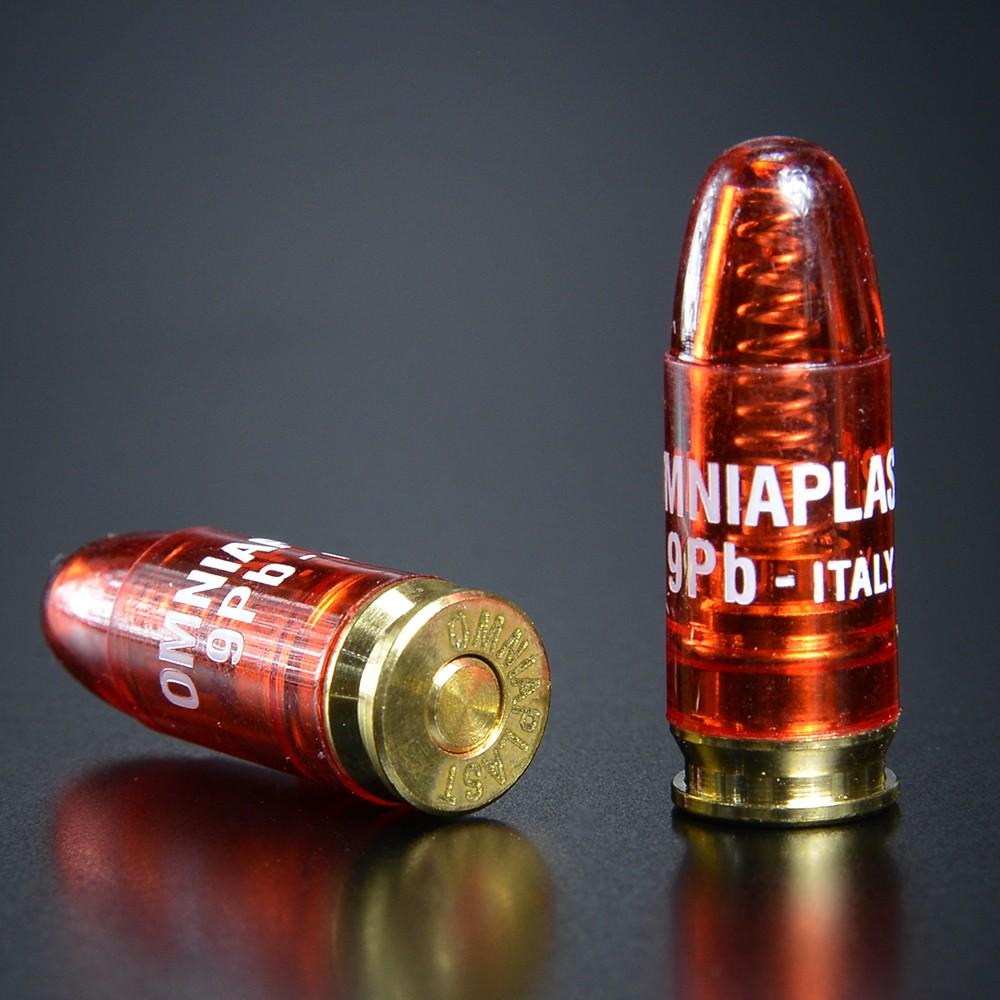 OMNIAPLAST スナップキャップ 9mmパラベラム弾 5個セット