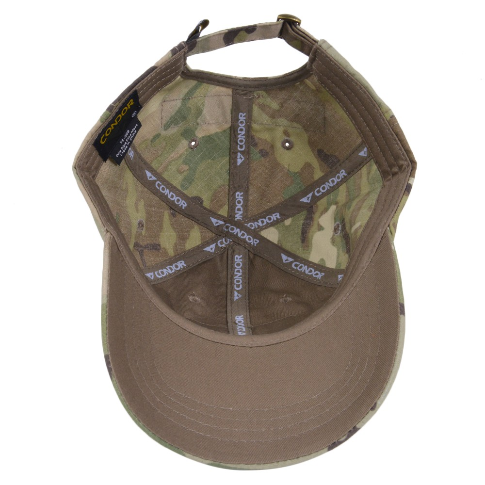 80621534bb6 Condor outdoor camouflage pattern is characteristic of tactical Cap.