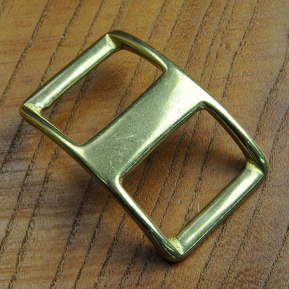 真鍮製 ピンバックル 舟型美錠 コンウェイバックル
