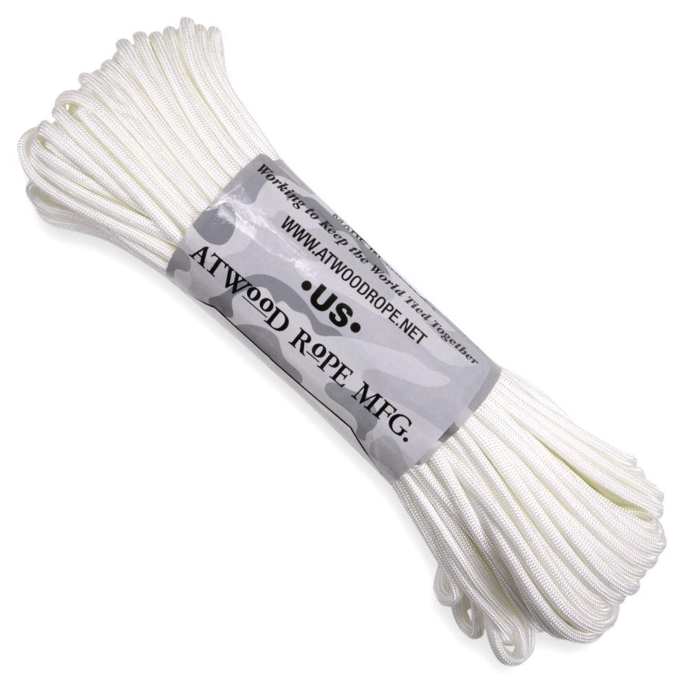 ATWOOD ROPE 550パラコード タイプ3 ホワイト