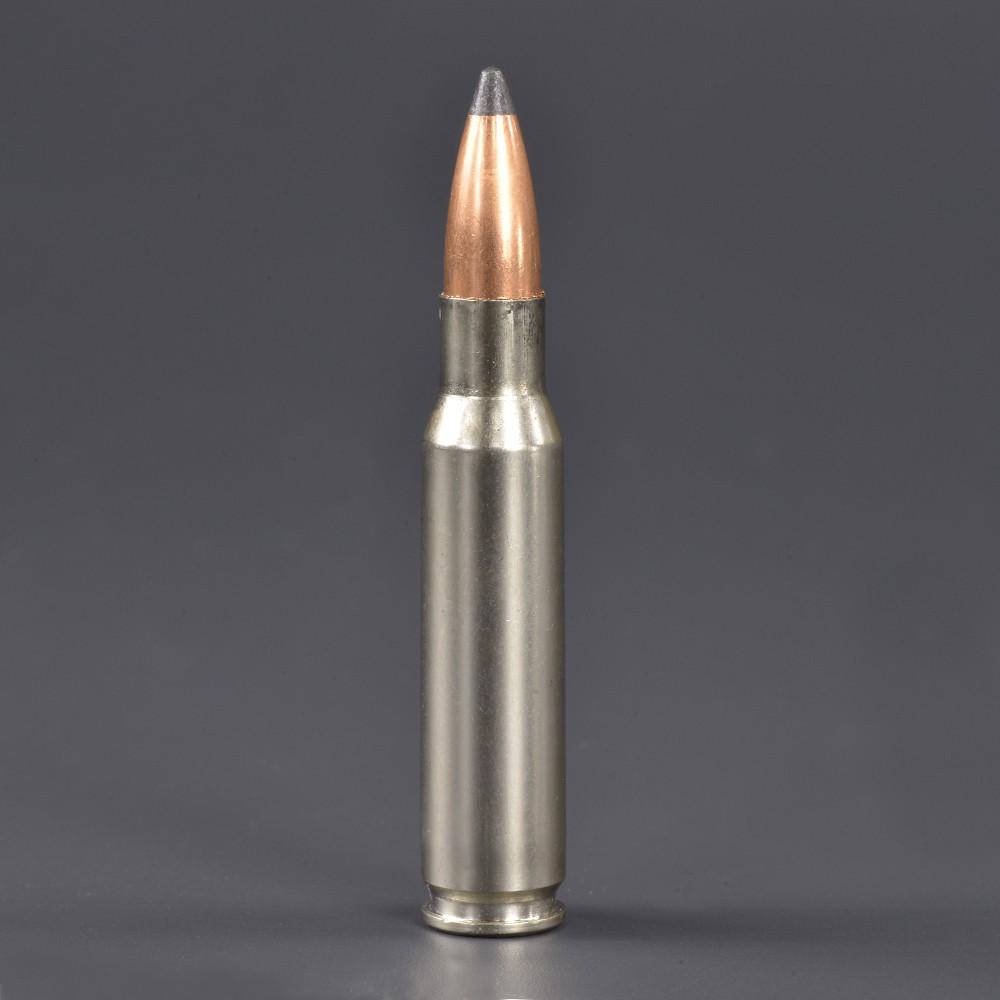 Winchester 空薬きょう .308WIN ライフル弾 弾頭付 シルバー
