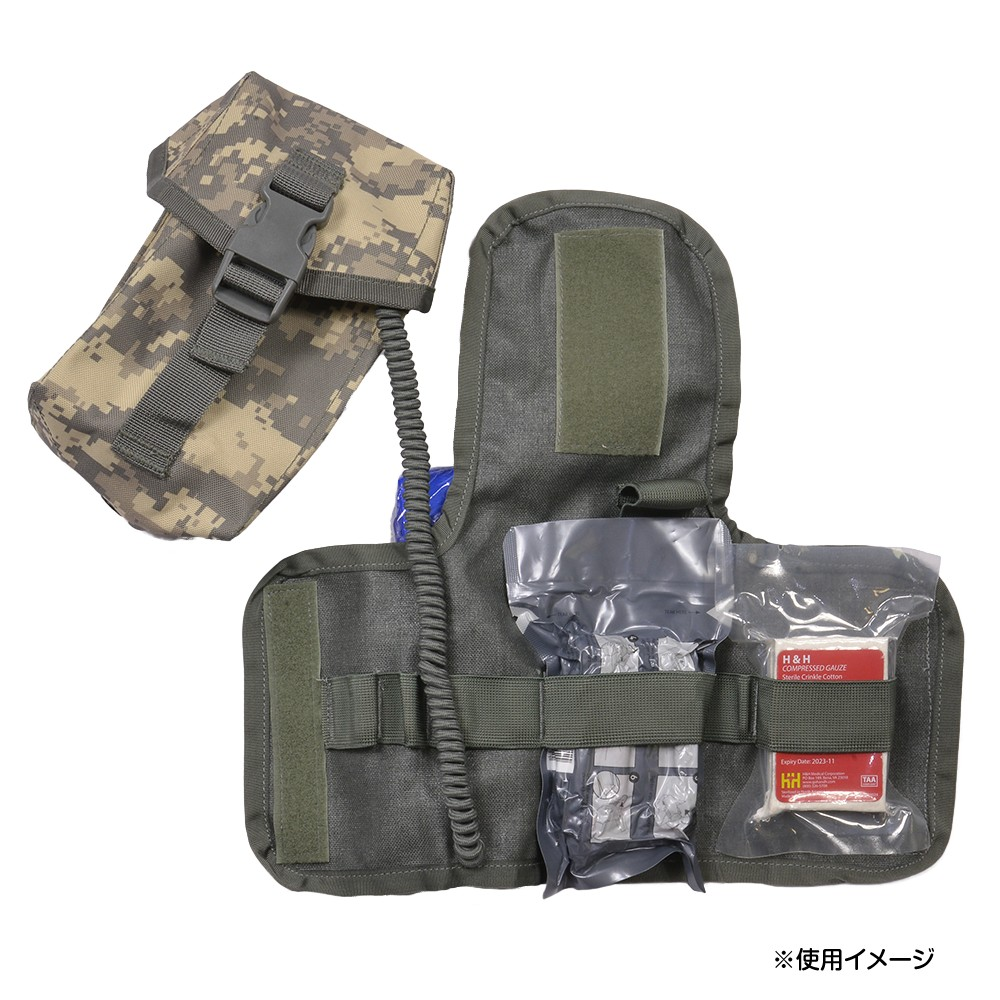 Medical porch hospitalman relief squad for the SEKRI real thing IFAK porch  insert USGI メディックポーチ EMS emergency services medical care