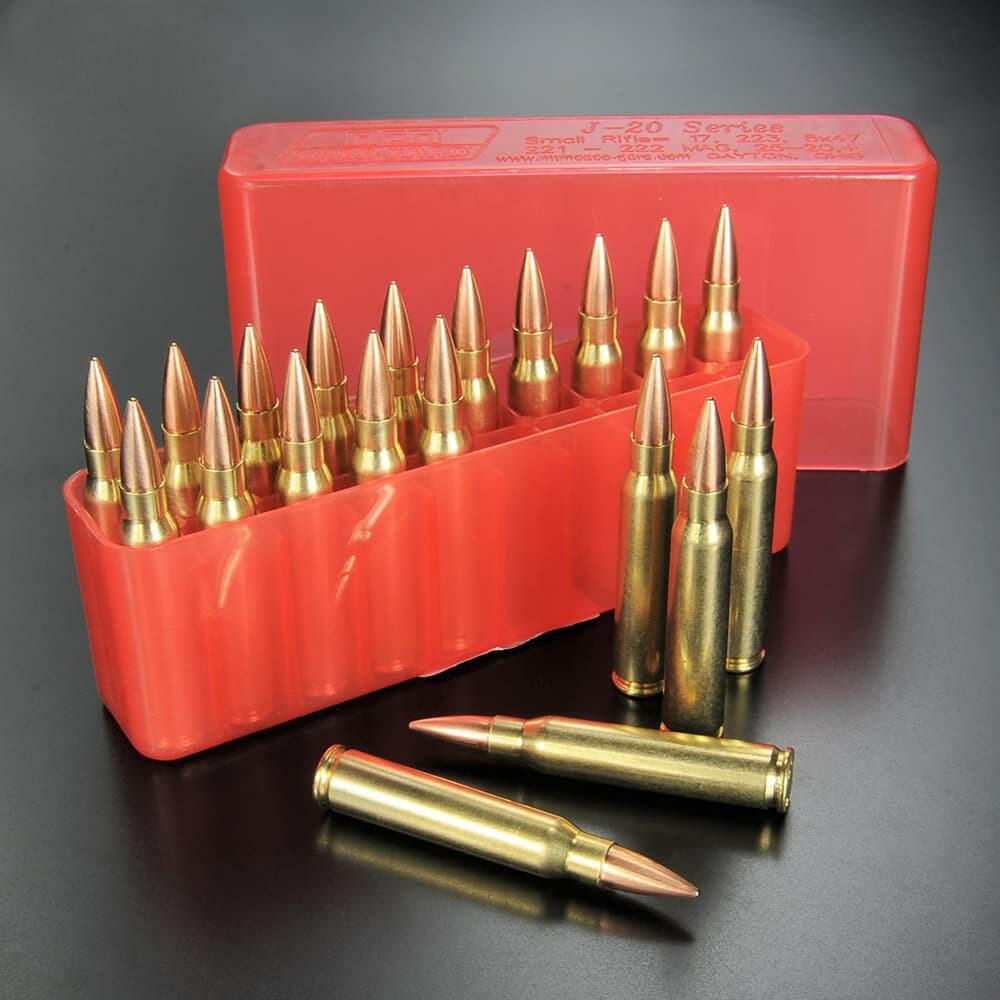 RIGHT リアルダミーカート 5.56×45mm NATO弾 20発セット プラケース付き