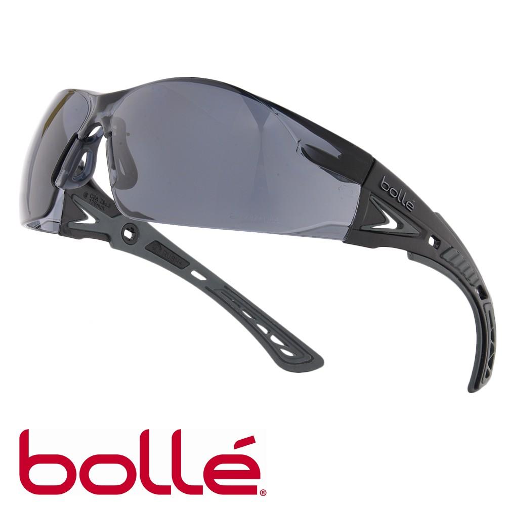 Bolle セーフティグラス RUSH Plus スモークレンズ