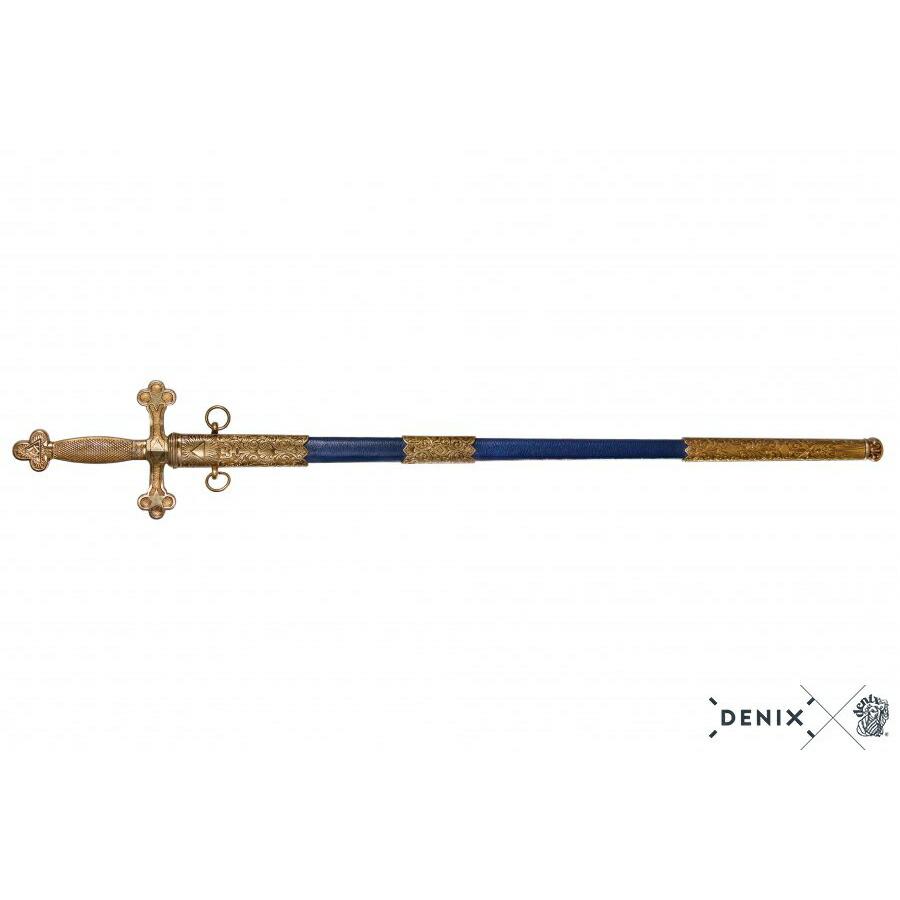 DENIX 4119 メイソンリーシンボリックスオード 模造刀 レイピア