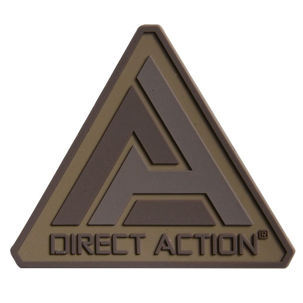 Direct Action ミリタリーワッペン Logoマーク PVCパッチ ベルクロ