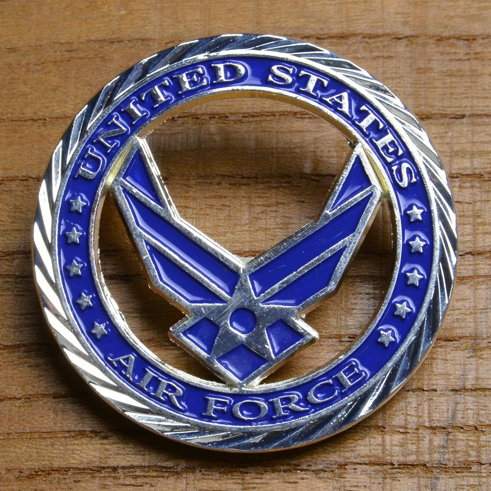 チャレンジコイン U.S.エアフォース 紋章 記念メダル