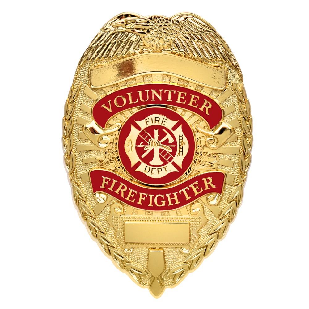 Rothco 消防バッジ FIRE FIGHTER デラックス