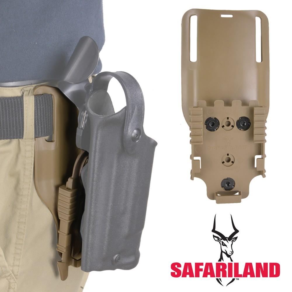 Safariland ローライド ベルトプラットフォーム QLS22付