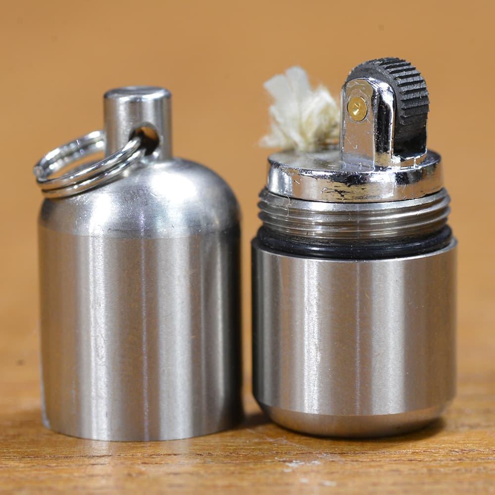 MARATAC ライター SPLIT PEA 小型 ステンレス