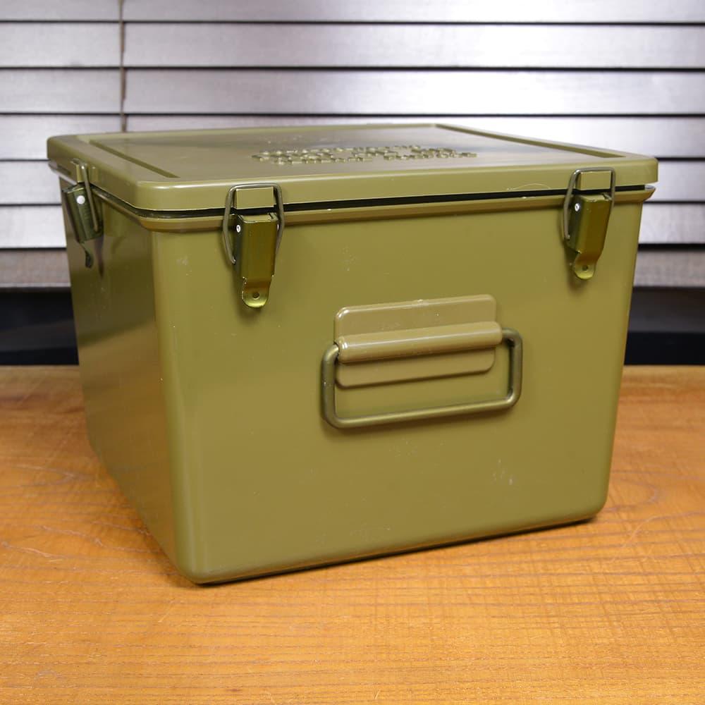 米軍放出品 メディカルボックス 救急箱 プラスチック樹脂製 OD