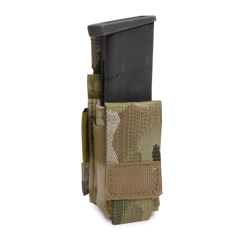 WARRIOR ASSAULT SYSTEMS 実物 シングルマガジンポーチ 9mm弾マガジン用